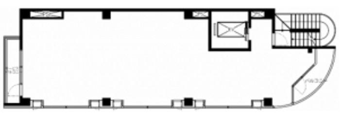 VORT上野広小路(旧:K-PLAZA) 3階(店舗限定)の間取り画像