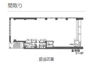 12東洋海事ビル 1階(店舗可)の間取り画像