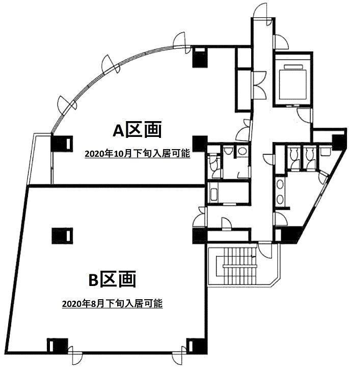 ATK千駄木ビル 8階Bの間取り画像