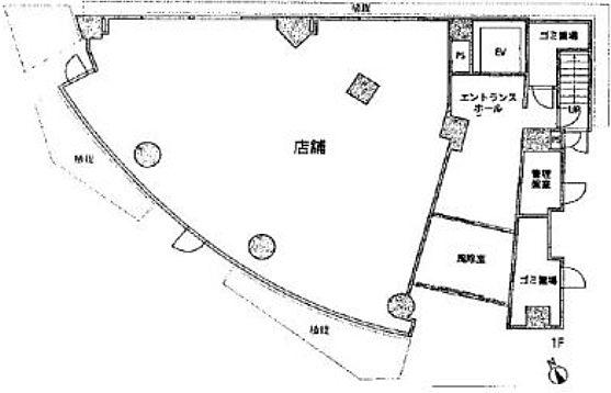 55-1麻布台 1階 平面図