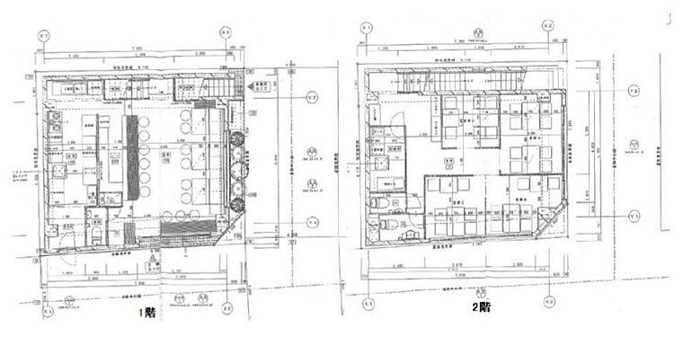 REビル 1階~2階(店舗限定)の間取り画像