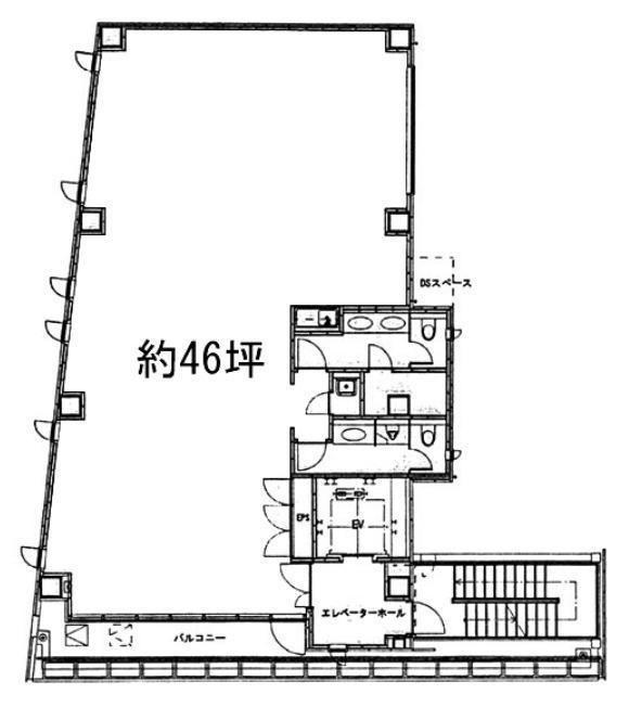 AUSPICE赤坂(オースピス赤坂) 5階の間取り画像