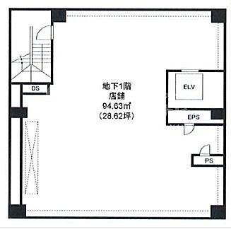 銀座龍櫻閣 地下1階(店舗限定)の間取り画像
