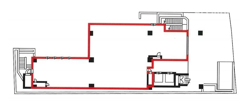 いちご赤坂317ビル 1階 平面図