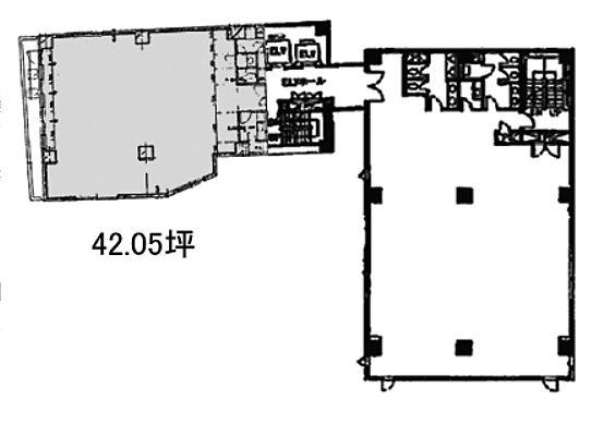 コア本郷ビル 4階Bの間取り画像