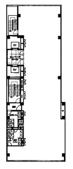 近鉄京橋スクエア(旧:京橋スクエア) 9階の間取り画像