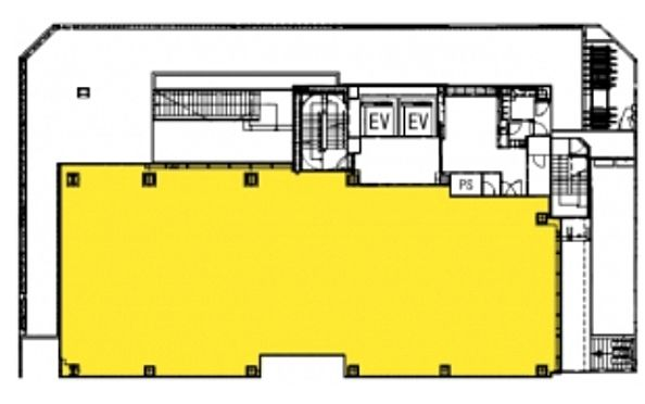 (仮称)神南一丁目計画 1階(店舗限定)の間取り画像