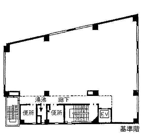 明治安田生命目黒ビル 4階の間取り画像
