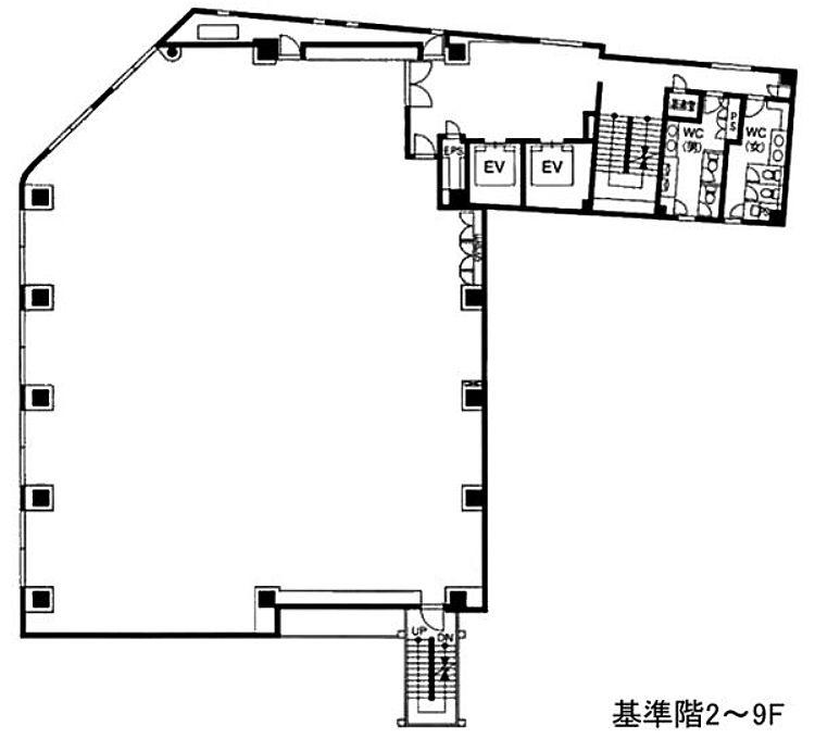 青山ファーストビル 6階の間取り画像
