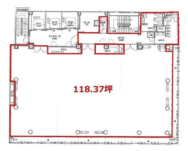 日本橋木村ビル 4階の間取り画像