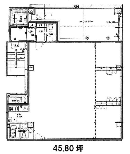 KDX岩本町ビル 8階の間取り画像