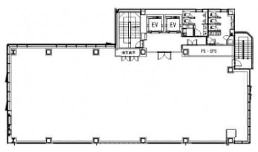 (仮称)神南一丁目計画 3階の間取り画像