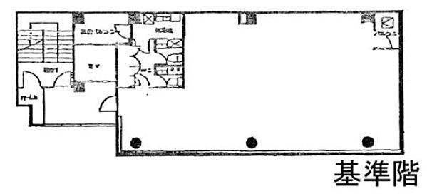 NS麻布十番ビル 5階の間取り画像