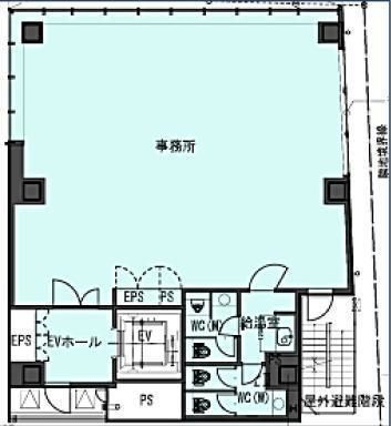 (仮称)南青山5丁目ビル新築計画(南青山5丁目プロジェクト) 7階の間取り画像