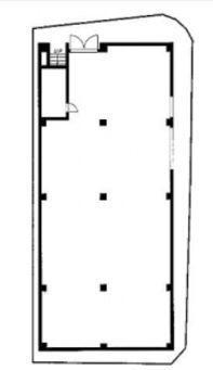 神宮前COURT A 地下1階(店舗限定)の間取り画像