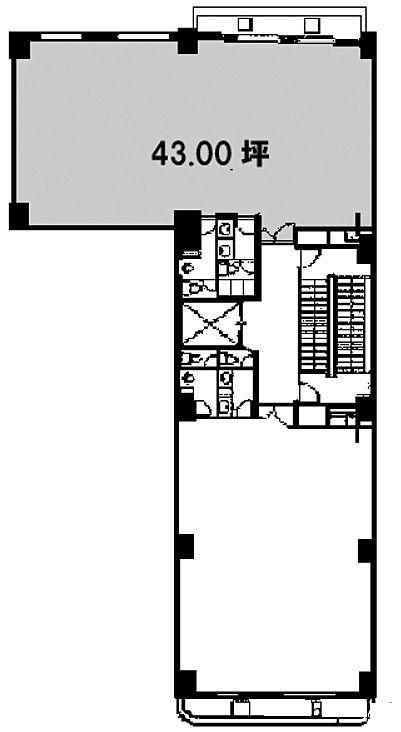 第27SYビル 2階Bの間取り画像