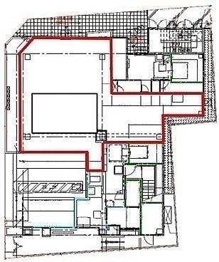 (仮称)中央区東日本橋3丁目計画 1階101(店舗限定)の間取り画像