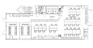 北大手町スクエア(旧:(仮称)内神田1丁目ビル・オザックスビル) 4階(店舗可)の間取り画像