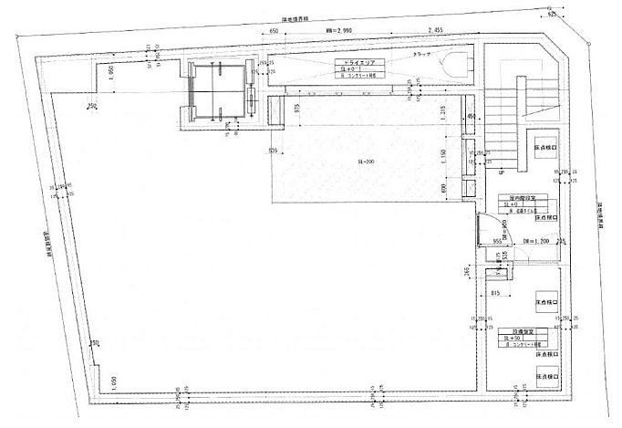 Zet MINAMIAOYAMA 地下2階(店舗限定)の間取り画像