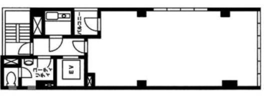 TATE神田ビル(テイト神田ビル) 4階の間取り画像