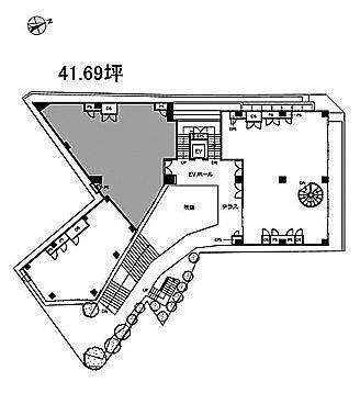 CASCADE HARAJUKU 1階1-2(店舗限定)の間取り画像