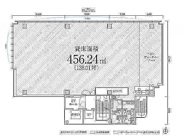 PMO渋谷Ⅱ(旧:PMO渋谷三丁目) 9階の間取り画像