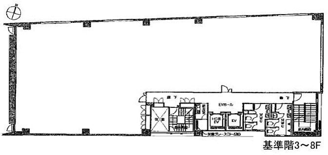 TODA BUILDING青山 5階の間取り画像