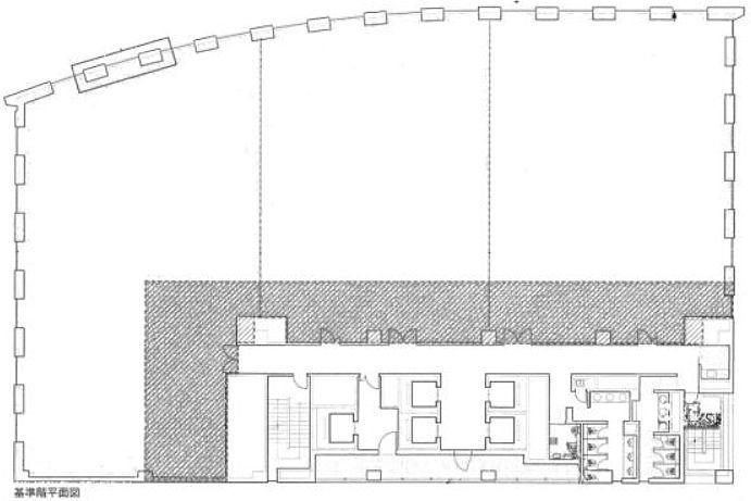 KDX浜松町プレイス 2階の間取り画像