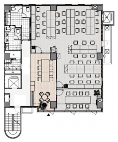 TBCビル 2階~3階の間取り画像