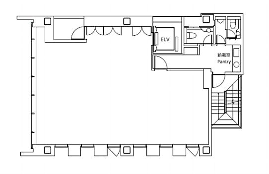 日総第25ビル 6階の間取り画像