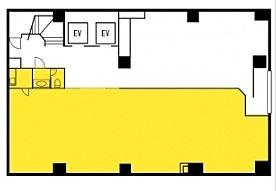 雷電ビル(旧:クマヒラ第二ビル) 1階の間取り画像