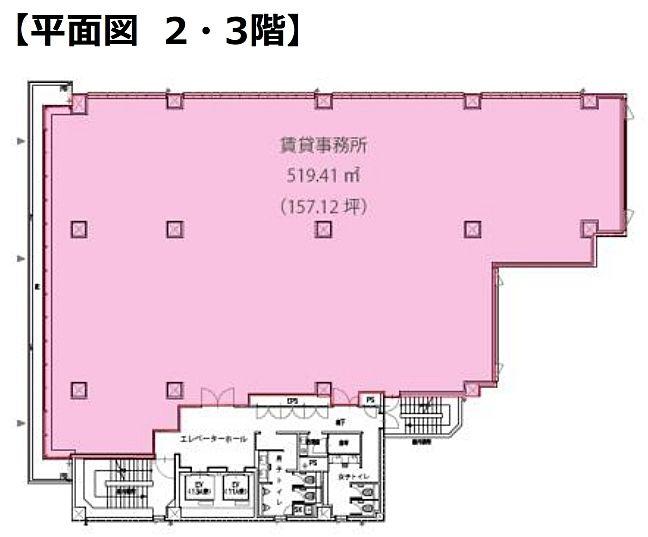 (仮称)世田谷区玉川二丁目 新築計画 2階の間取り画像