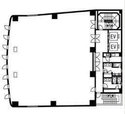 白揚ビル 3階の間取り画像