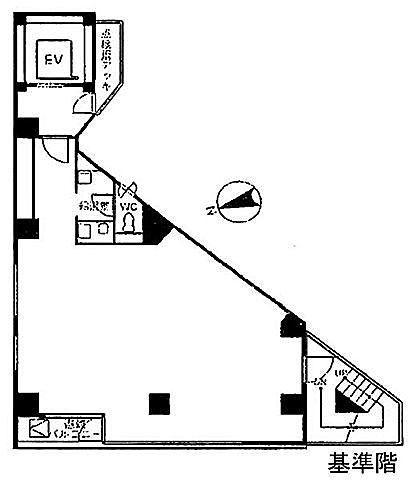 秋葉原シグマビル 8階の間取り画像