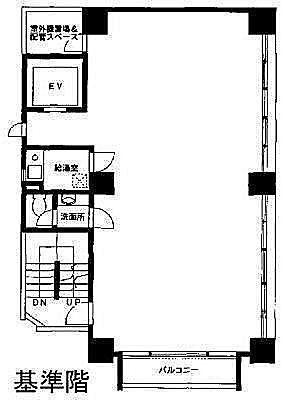 VORT神田 5階の間取り画像