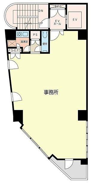 HKパークビルⅠ 8階の間取り画像
