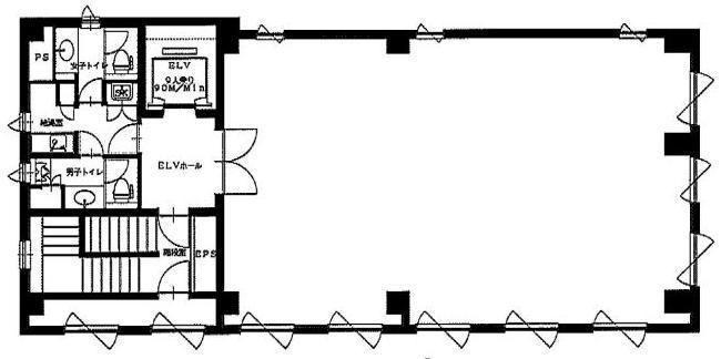 湊日本ビル 3階の間取り画像