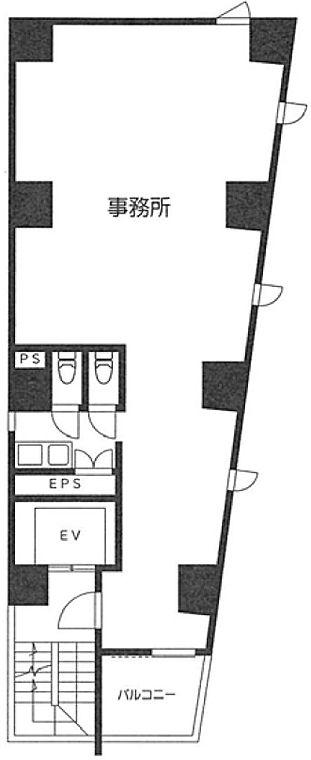 芝MKビル 2階の間取り画像