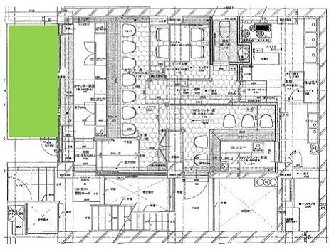 パレロワイヤル西麻布 1階(店舗限定)の間取り画像