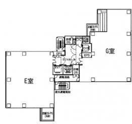 アルボーレ銀座(ALBORE GINZA) 9階E(店舗限定)の間取り画像