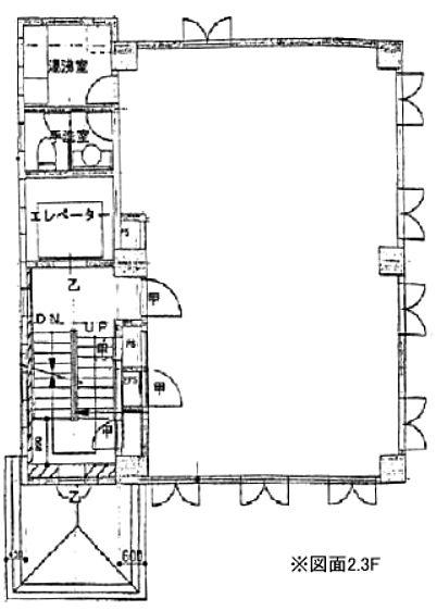 麹町青木ビル 1階~4階の間取り画像