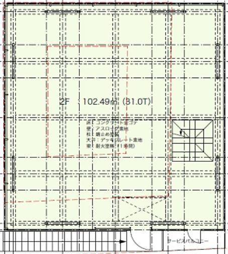 (仮称)表参道3919プロジェクト 1階(店舗可)の間取り画像