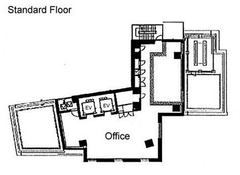 JouLe SHIBUYA 地下1階(店舗限定)の間取り画像