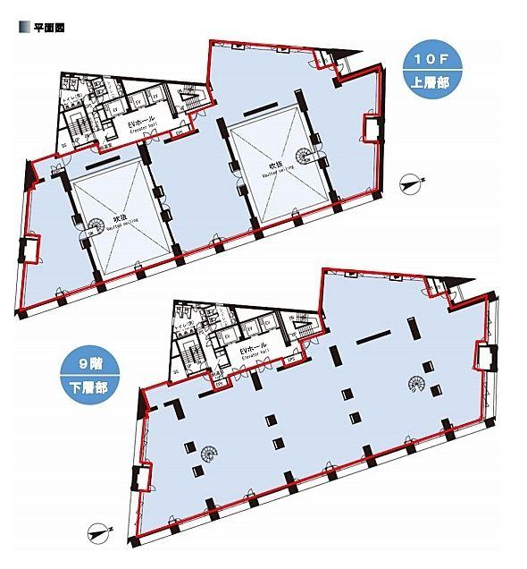 STADIUM PLACE AOYAMA(スタジアムプレイス青山) 7階~8階メゾネットの間取り画像