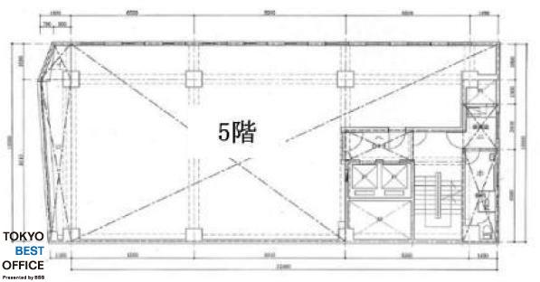 市橋ビル 5階の間取り画像