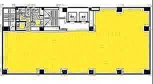 雷電ビル(旧:クマヒラ第二ビル) 10階の間取り画像