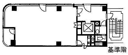 VORT神保町Ⅱ(旧:鉄建神保町ビル) 6階の間取り画像