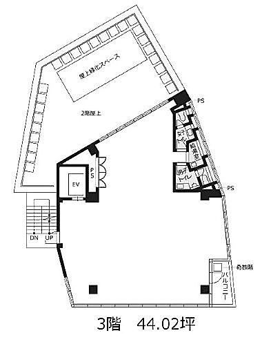 VORT外苑前Ⅲ (旧:Jingumae342・神宮前342) 6階の間取り画像