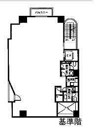 アシジ神泉ビル 6階の間取り画像