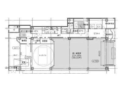 ヒューリック東日本橋ビル 1階(店舗限定)間取りのサムネイル画像